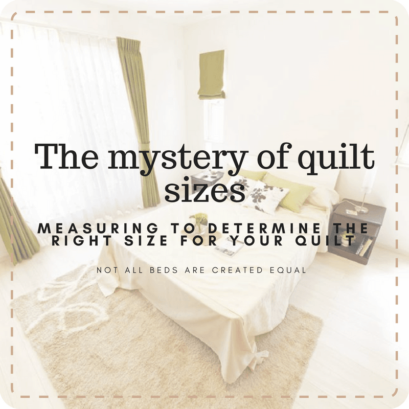 measuring for quilt size