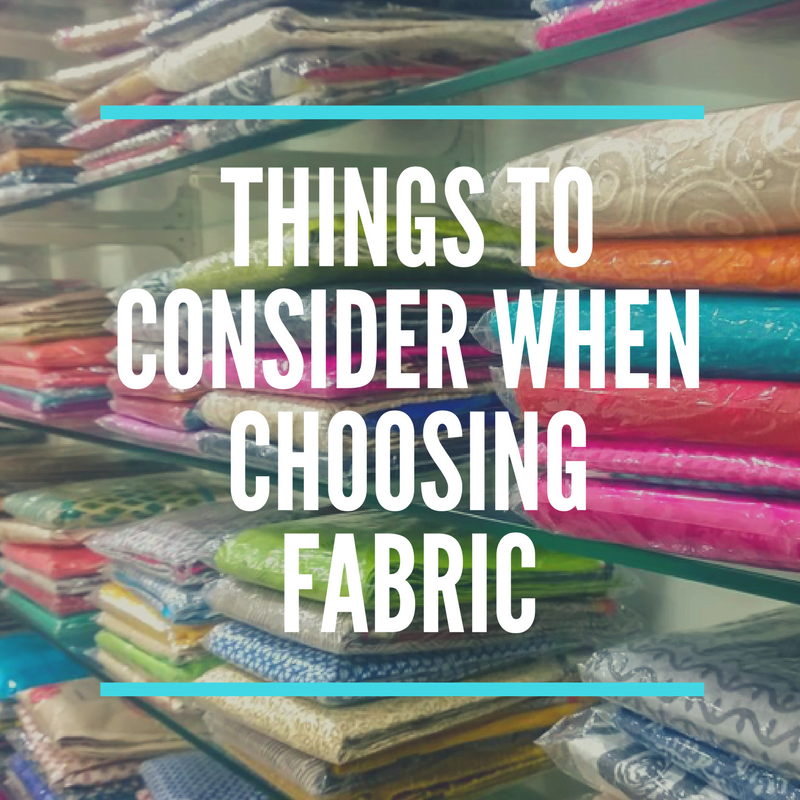 Things to consider when choosing quilting fabric