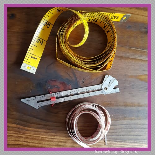 quilt tool tape measures