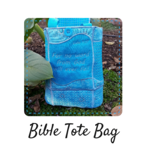 Bible tote bag product image