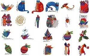 Laurel burch card designs