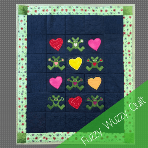 Fuzzy Wuzzy quilt product image