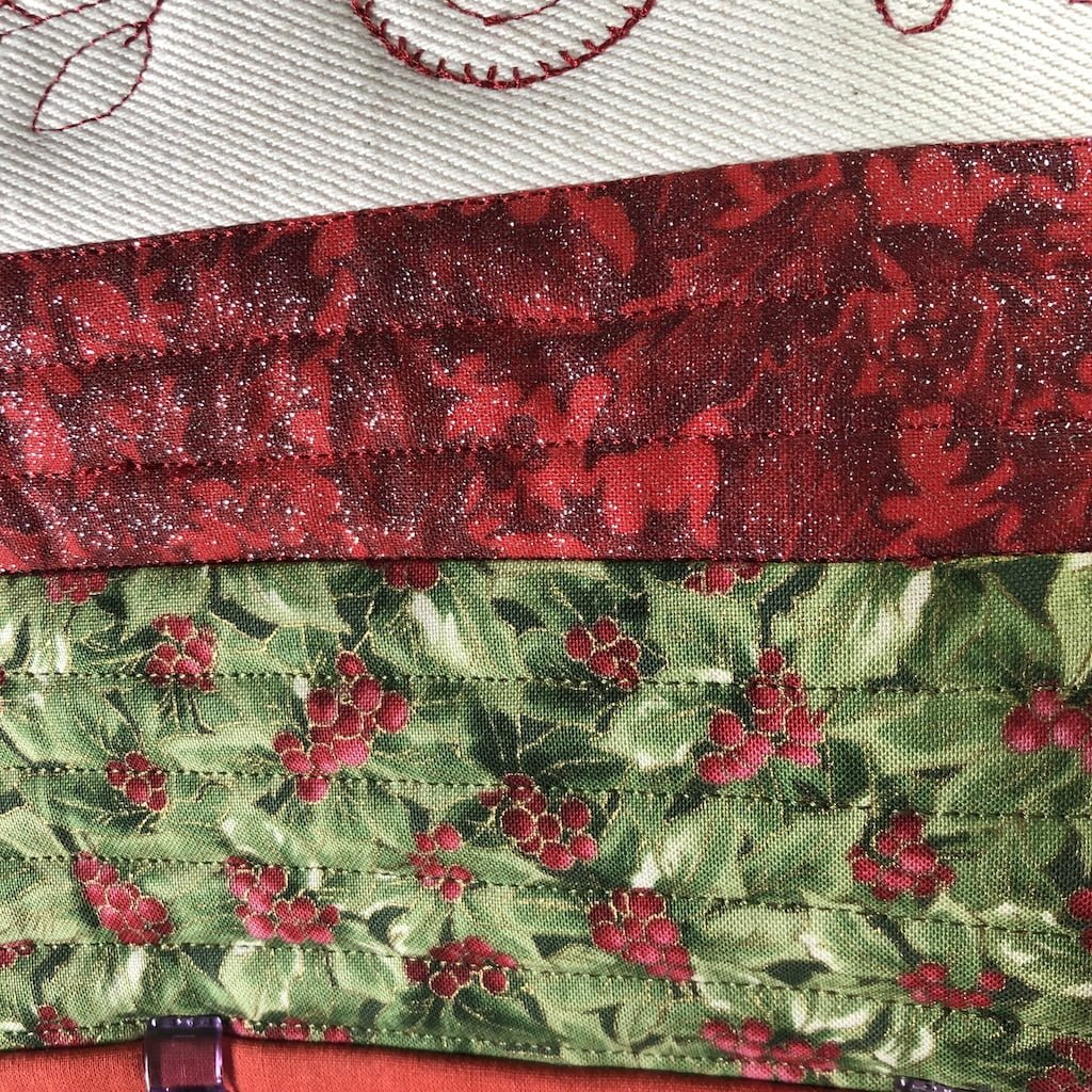 quilting placemats for christmas
