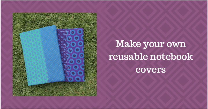 Make reusable notebook covers