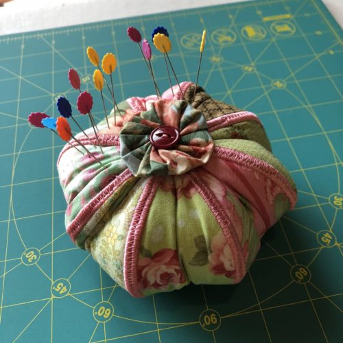one pincushion