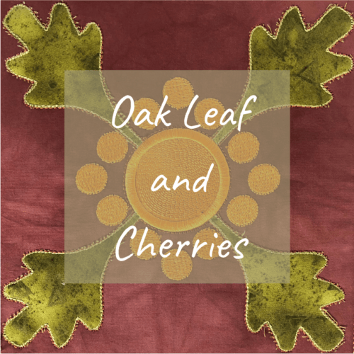 Oak leaf and cherries product image