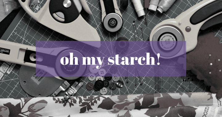 fabric starching blog image