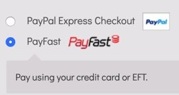 Choose PayFast