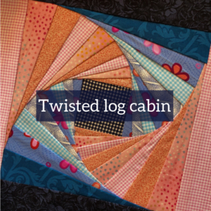 twisted log cabin product image