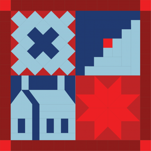 Block Barn Sampler 1