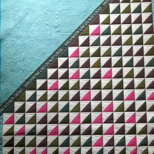Patchwork Line II finished quilt