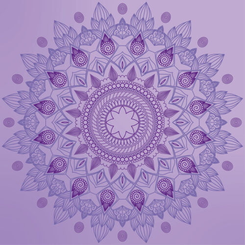 Natural lines from South Africa in purple party colour